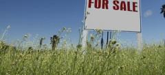 Măsuri tranzitorii pentru vânzarea terenurilor