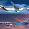 Airbus şi Boeing au primit comenzi de câte 40 miliarde dolari