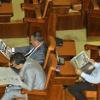 """Finanţele către parlamentari: """"Mai citiţi şi voi ziarele"""""""