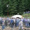 Minerii de la exploatarea de uraniu Crucea au suspendat protestul
