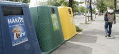 România are mari întârzieri cu colectarea separată şi reciclarea