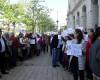 Angajații de la Mediu au ieșit în stradă