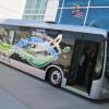 Autobuze electrice cumpărate cu bani din CO2