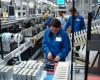 Producţia industrială a scăzut cu 0,6% în primele şase luni