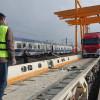 Transport RO-LA de probă organizat de CFR Marfă