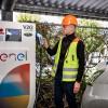 Enel investește 20 milioane euro în puncte de încărcare maşini electrice
