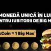 McDonald's lansează MacCoin, la 50 de ani de Big Mac