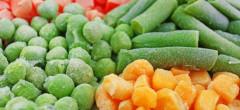 Importuri de legume congelate în plin sezon de producție
