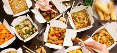 Comenzile online de mâncare s-au dublat