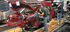 Producţia naţională de mașini a scăzut cu 11% în 2020