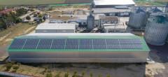 Fabrică de ulei vegetal cu panouri fotovoltaice Enel