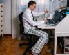 Oamenii muncesc mai mult atunci când lucrează de acasă
