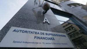 ASF autoritatea supraveghere financiara