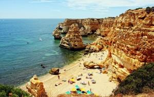Algarve plaja Portugalia