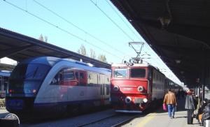 tren gara CFR