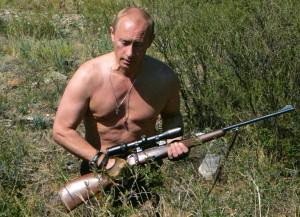 Putin la vânătoare