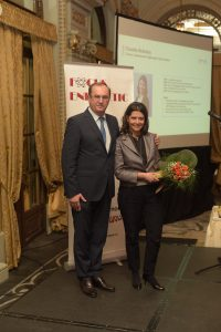 Claudia Brânduș și Emil Calotă